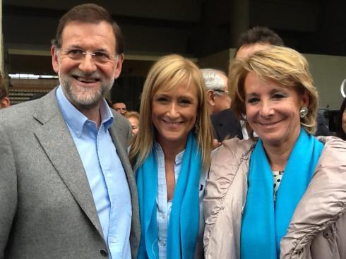 Rajoy-Cifuentes-Aguirre